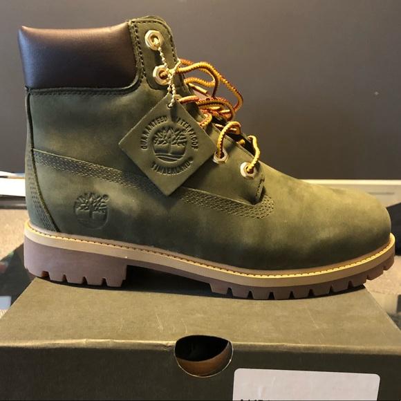 timberland boots oliv